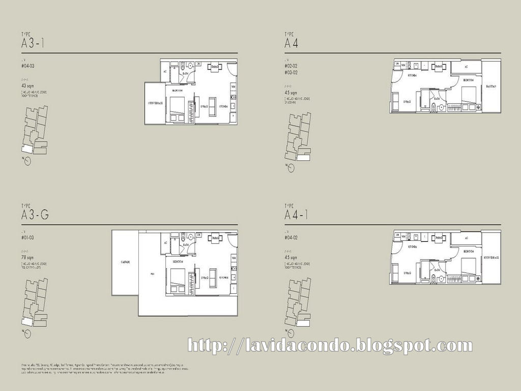 La Vida Site Floor Plan