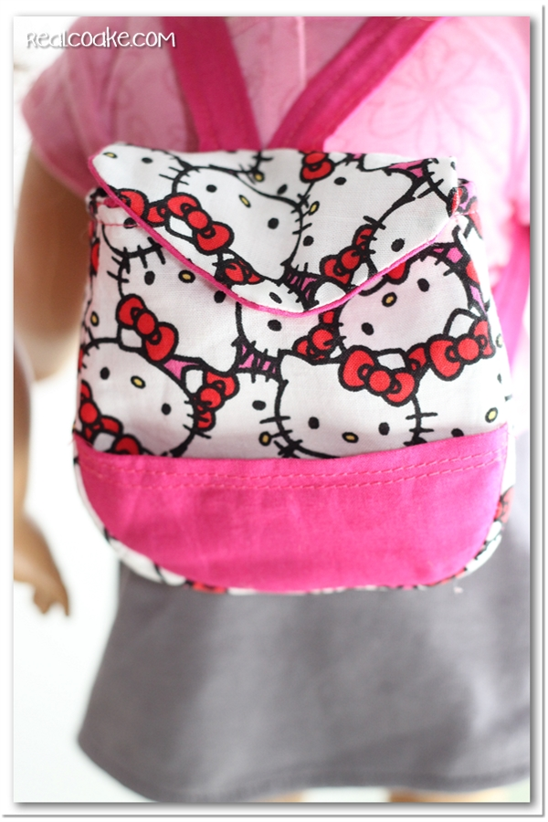 Back to School Backpacks {American Girl Doll Pattern} - The Real ...