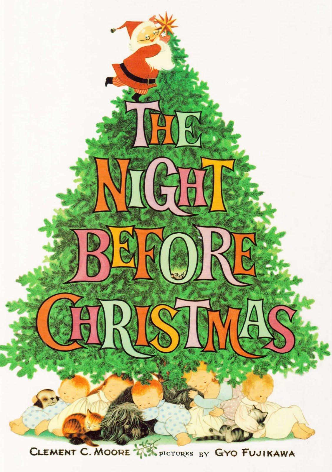 vintage kids books my kid loves the night before christmas