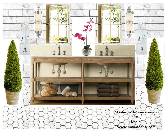 Mood Board Luxurious And Elegant Master Bathroom Modern Diy Art Designs