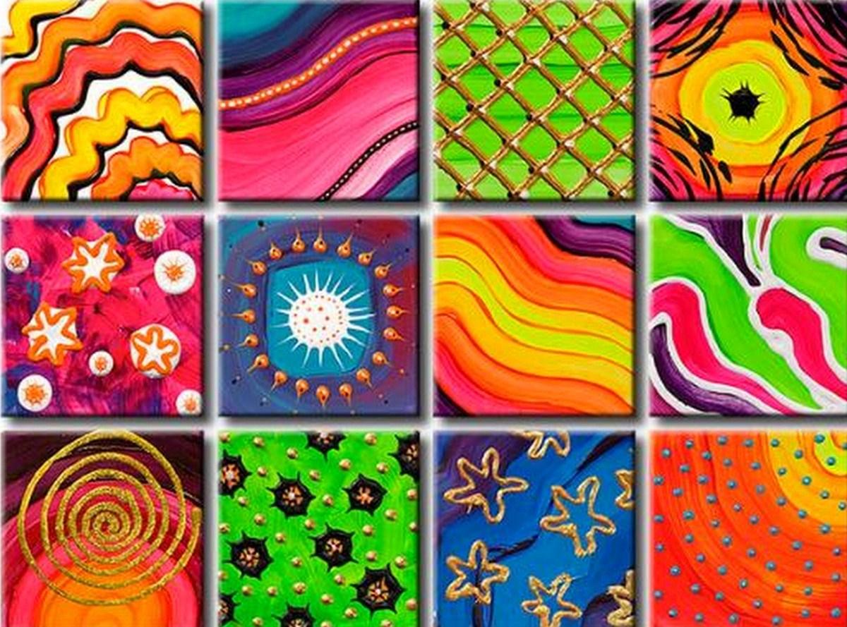 Pinturas cuadros lienzos arte pop decorativo - Cuadros de pintura ...