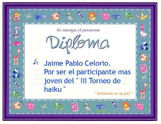 Del II torneo de haikus