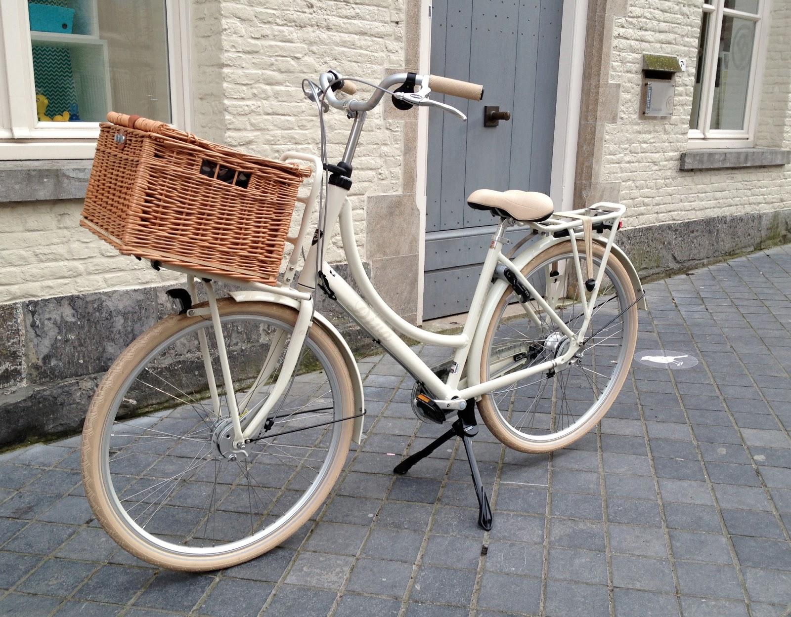 stapel op fietsen
