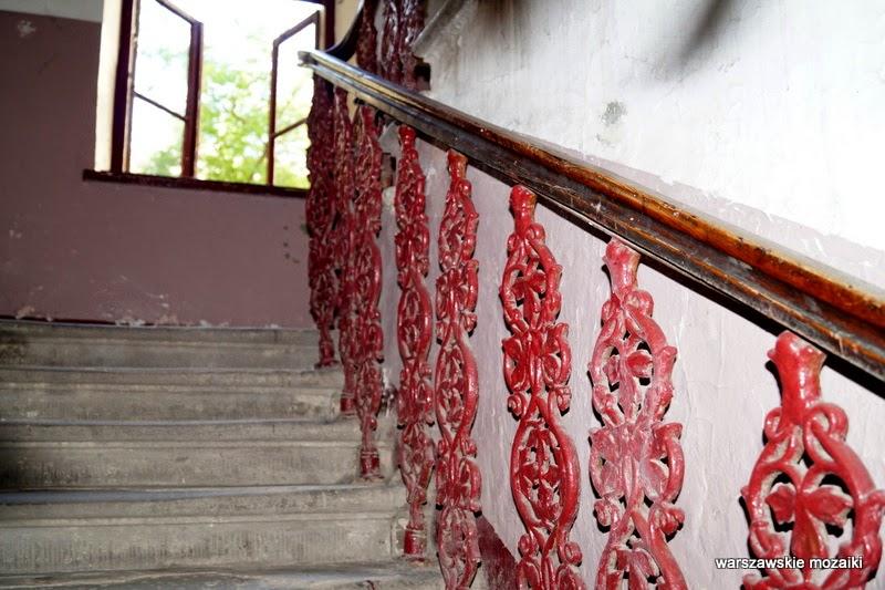 Warszawa Praga Północ Samuel Bergson Praski Dom Towarowy schody klatka schodowa