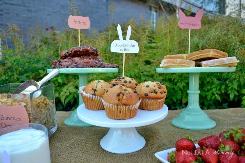Simple Woodland-Themed Brunch for Fall pastries