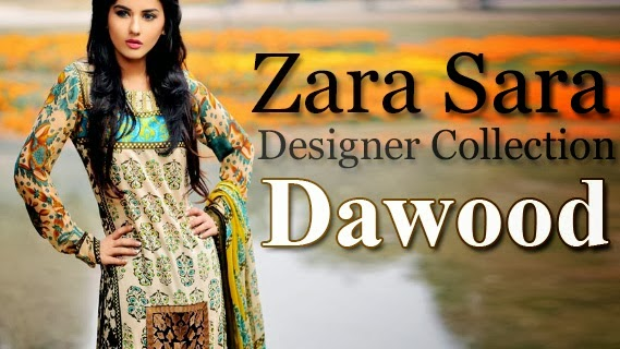 Zara Sara Designer Lawn Collection 2014