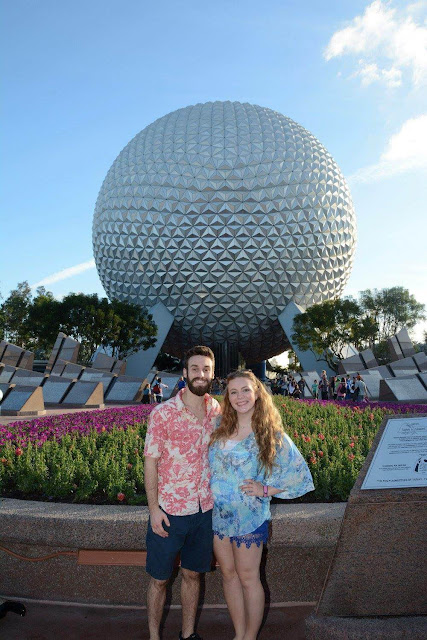 first visit at epcot