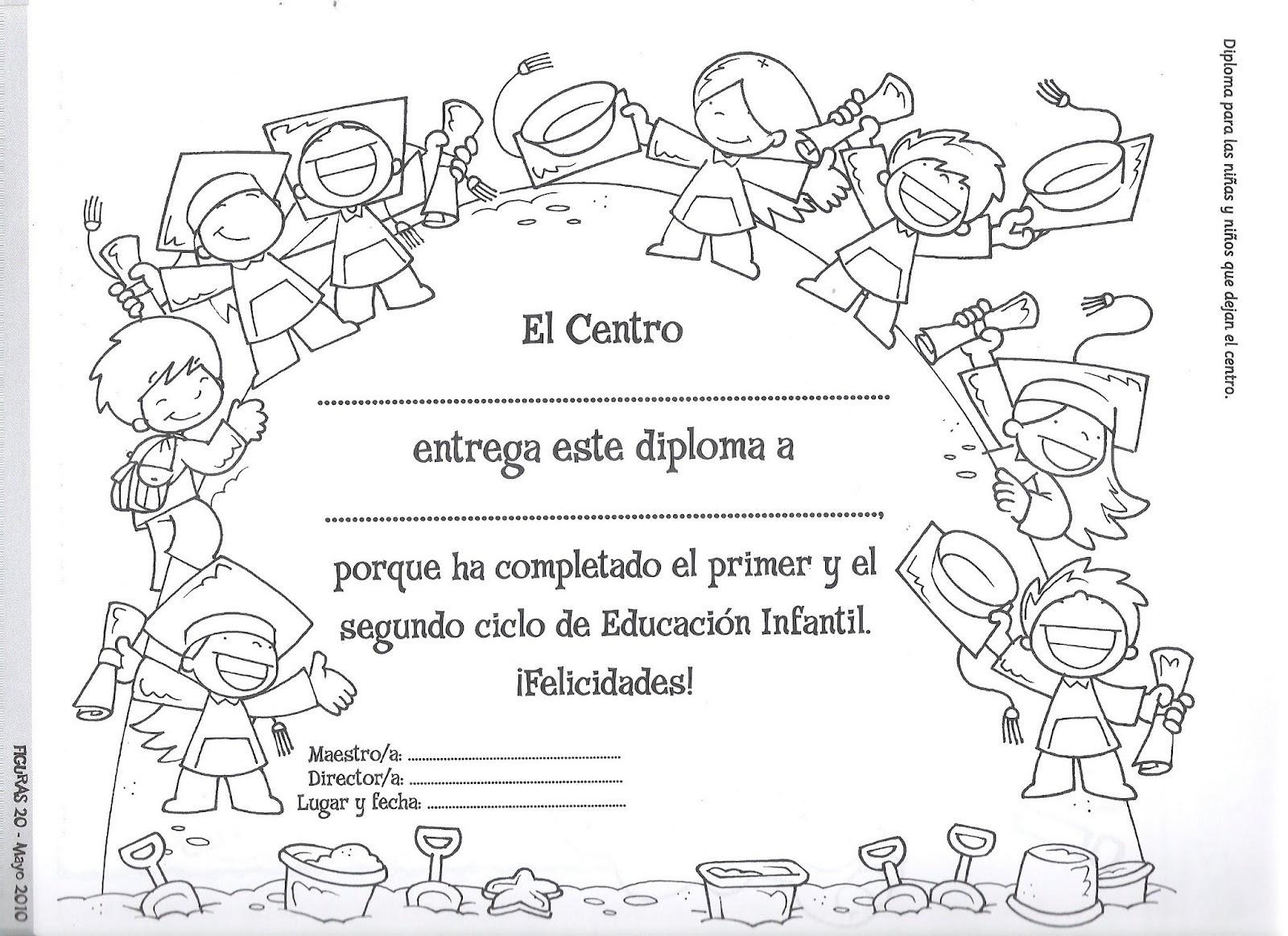 Dibujos Para Colorear De Graduacion