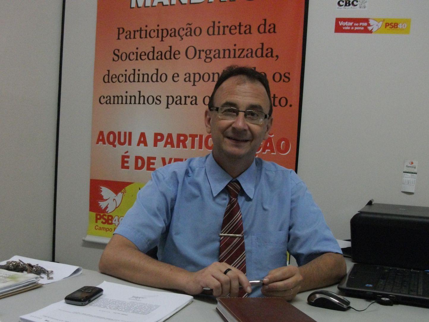VEREADOR DO PSB FAZ DEFESA DA FAMÍLIA