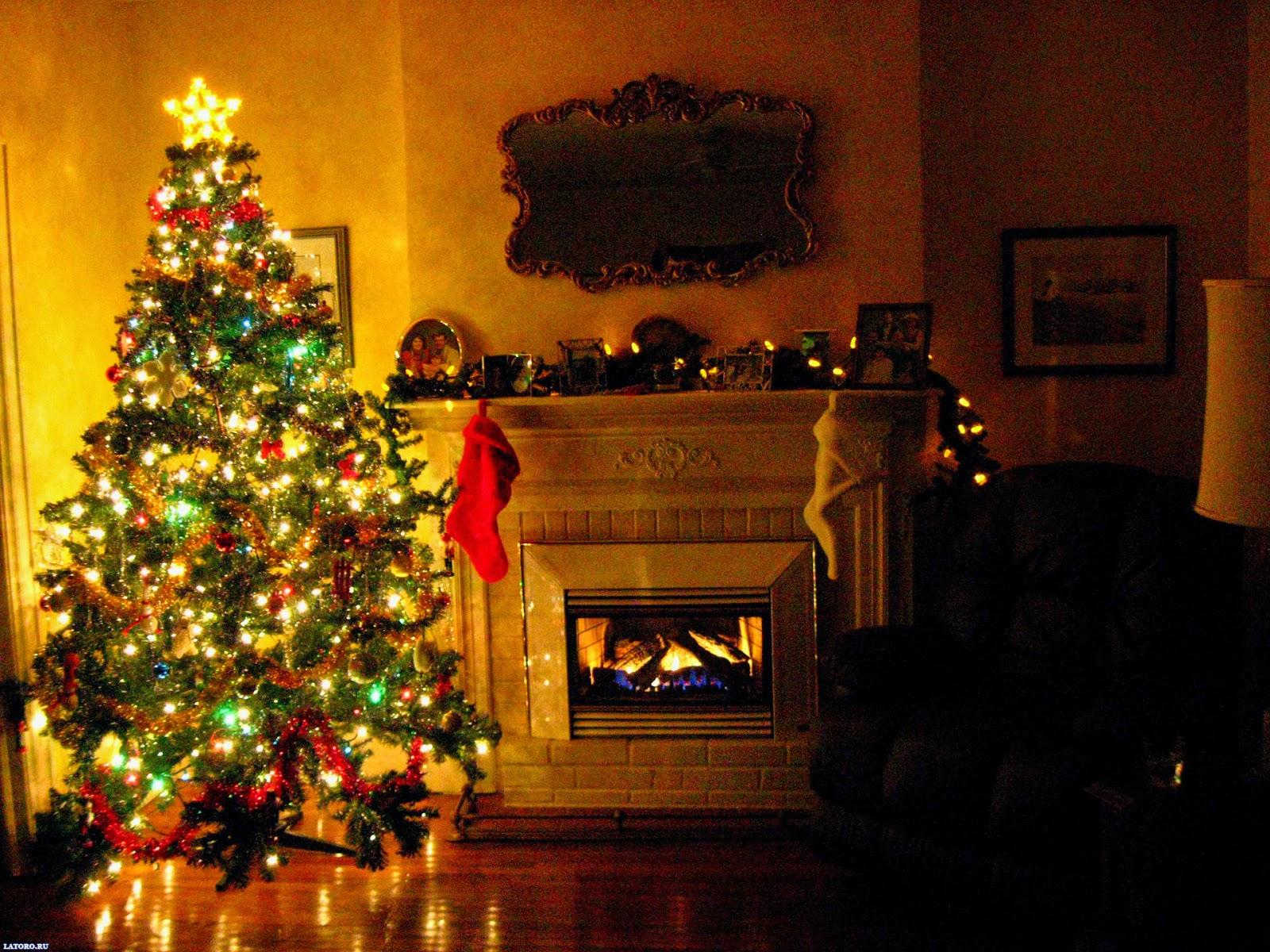 tree wallpaper christmas