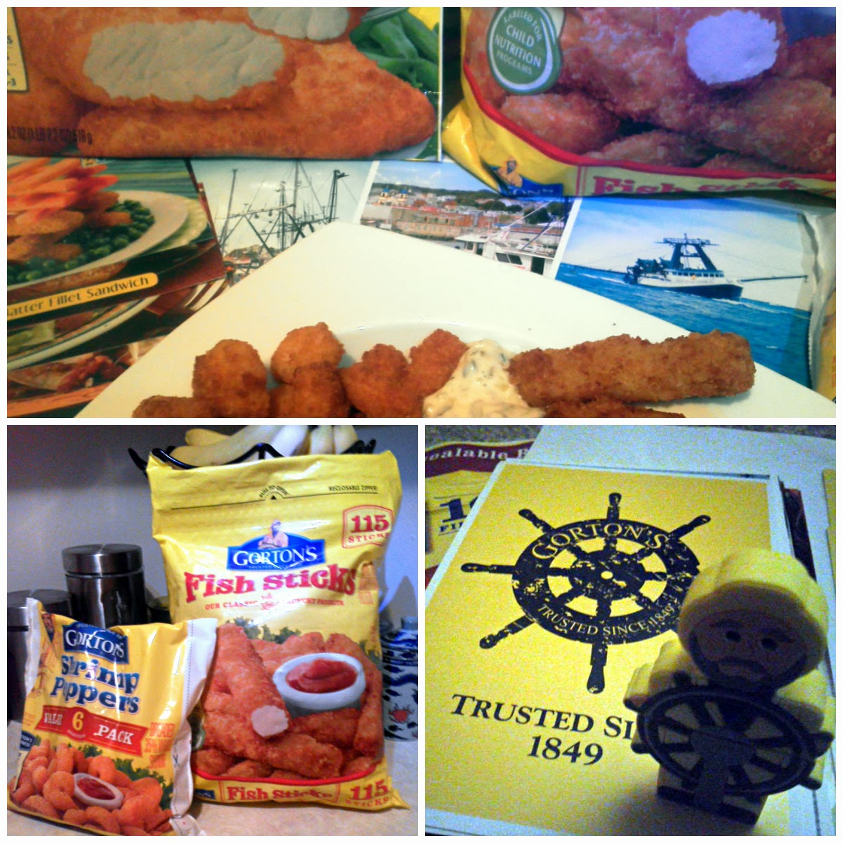 Life according to greenvics gortons fisherman for Are fish sticks good for you