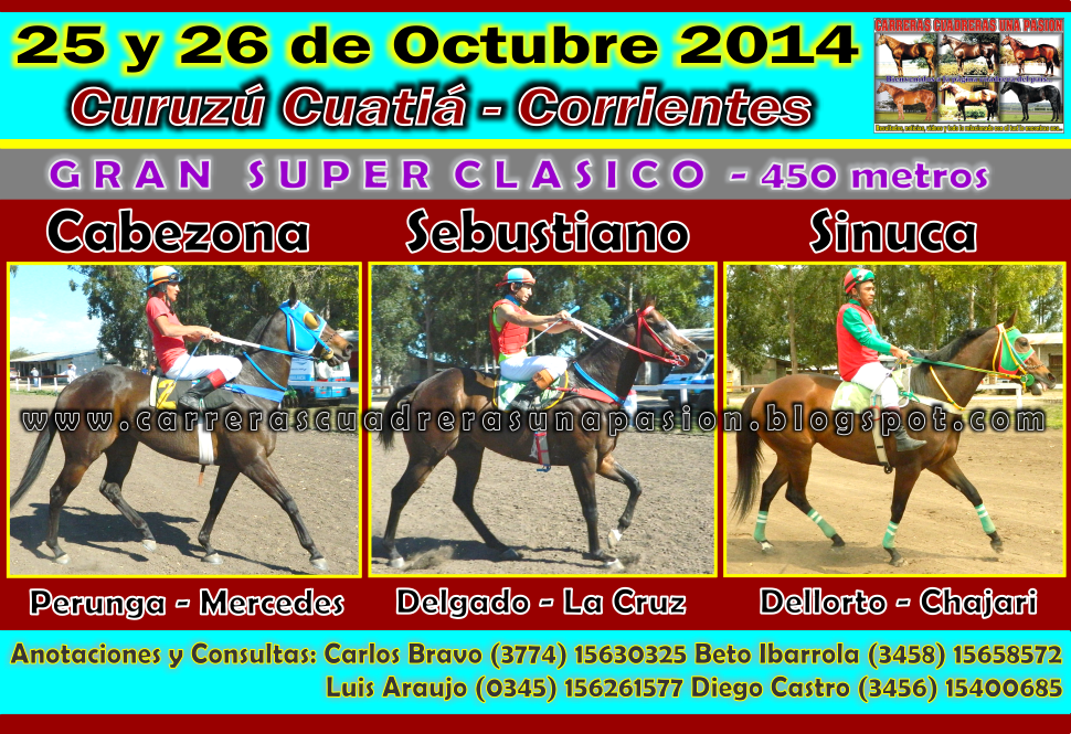 C. CUATIA - CLASICO 450 METROS