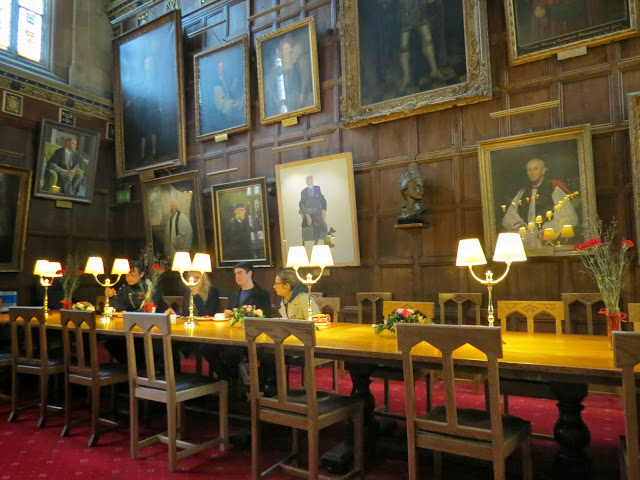 Christ church college dining hall