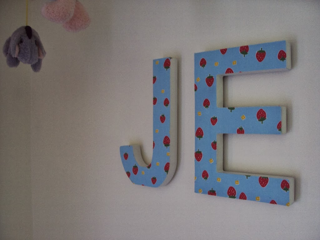You can buy ready made letters from