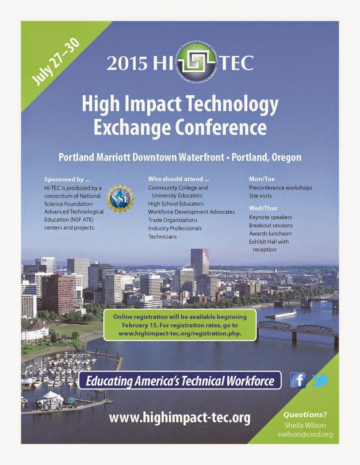 HI-TEC Conference & FLATE Sessions