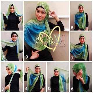 Tutorial Model Hijab