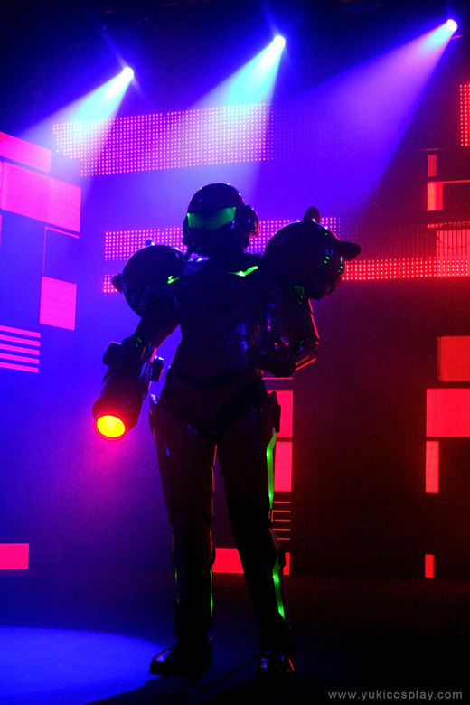 Metroid Cosplay - Darkness por Yukilefay