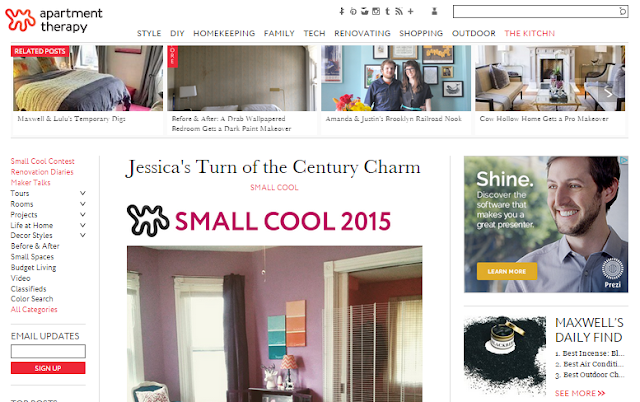 Check Out And Vote For My Turn Of The Century Charm In This Year S Apartment Therapy Small Cool Contest,Diy Halloween Decorations Indoor