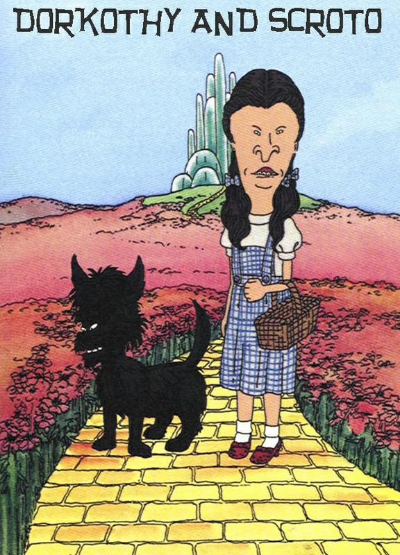 Beavis and Butthead - Wizard of Oz