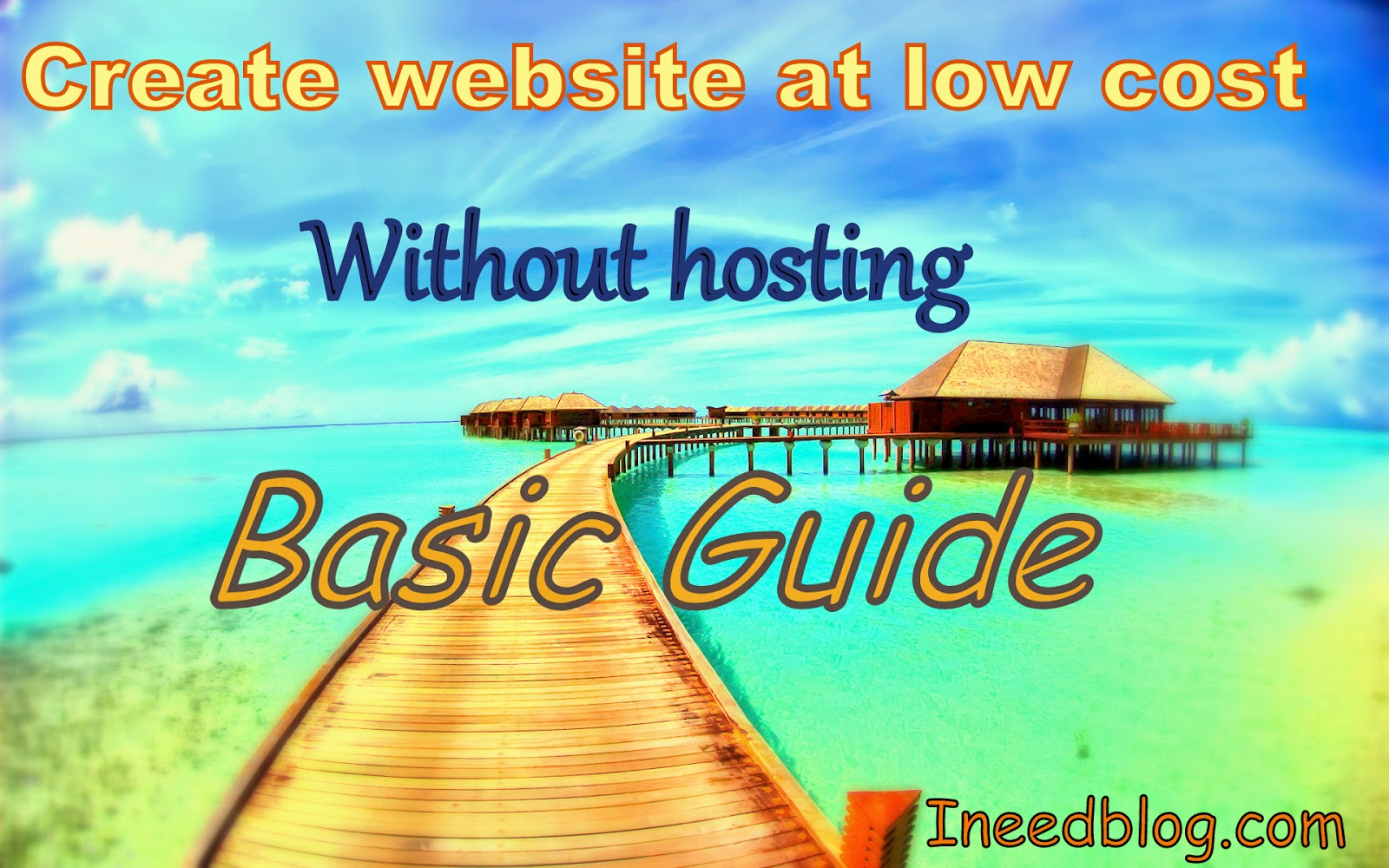 Create website at low cost without hosting.