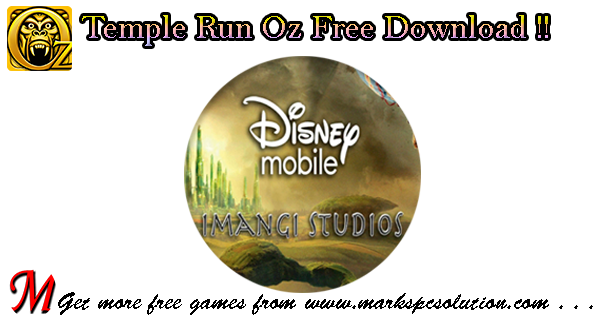 Temple Run Oz by Disney Mobile