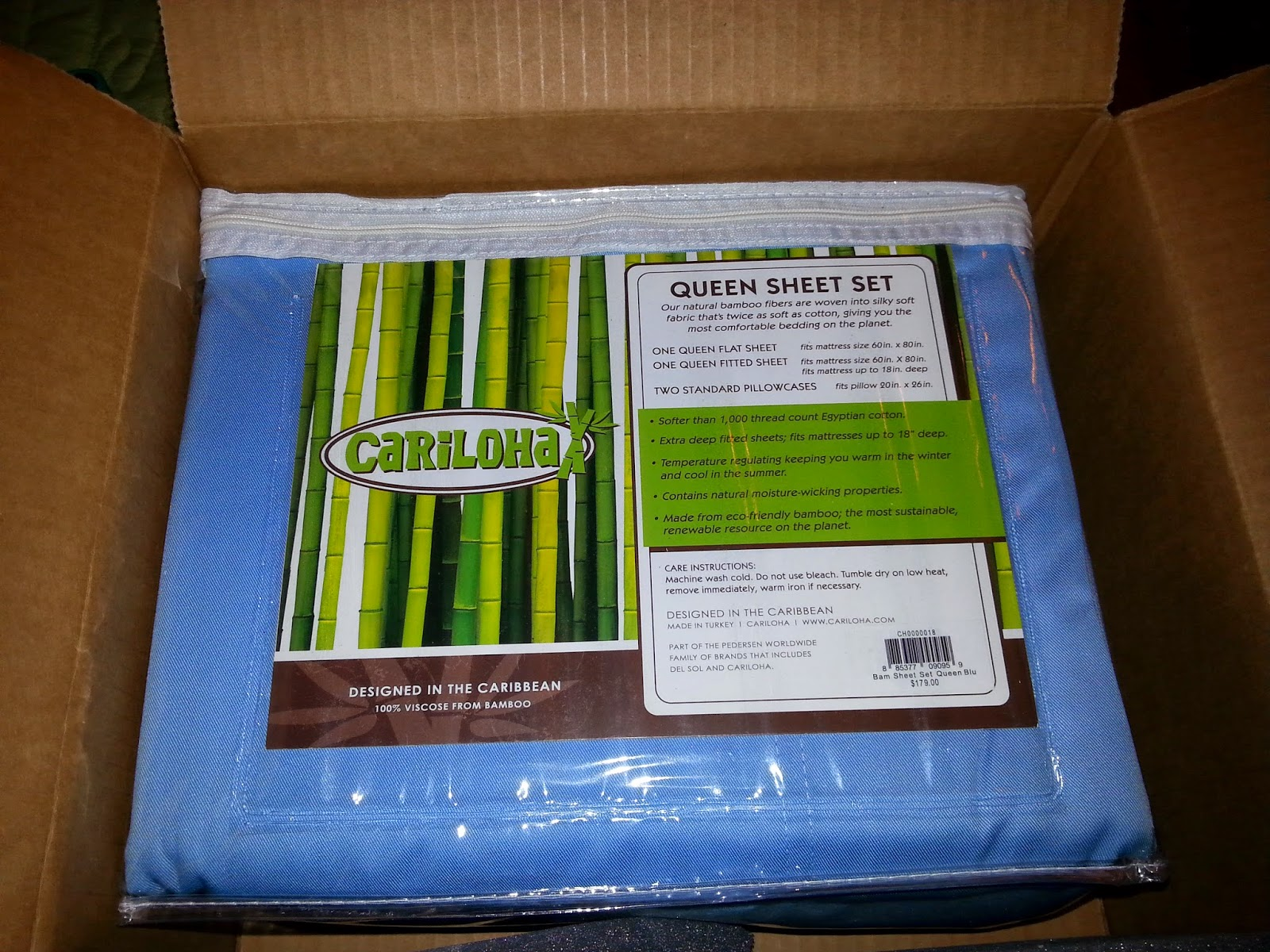 when we were given the chance to try a bamboo bedding set from cariloha i was so excited and wait to see what bamboo sheets felt like