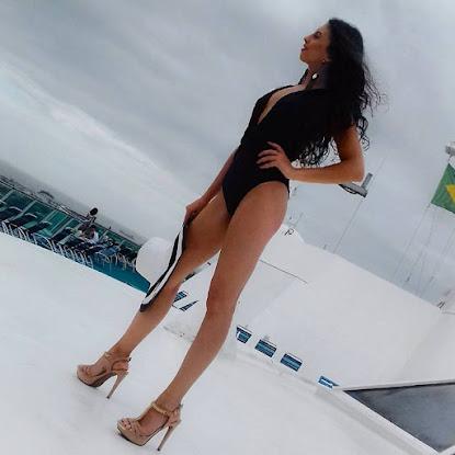 Gaúcha radicada em Santa Catarina foi coroada Miss Turismo Del Mundo Brasil 2015/2016 no último dia