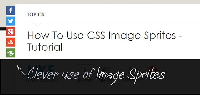 css image sprites