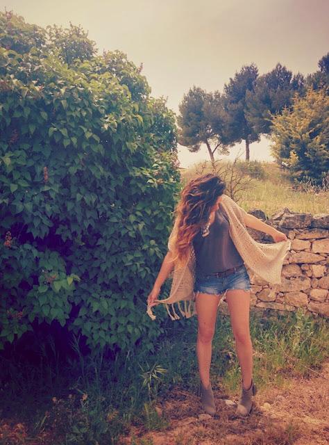 Blog de Moda Outfit etnico Chaleco