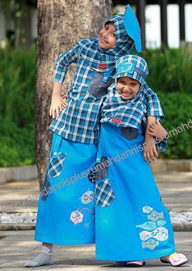 Rumah Dannis Plus Baju Muslim Anak