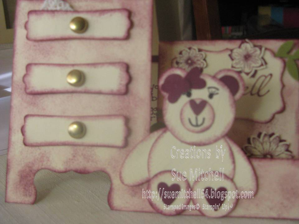 Card Making Ideas In Australia Part - 31: Punch Art With Stampinu0027 Up Punches - Teddy And Panda Card Making Ideas
