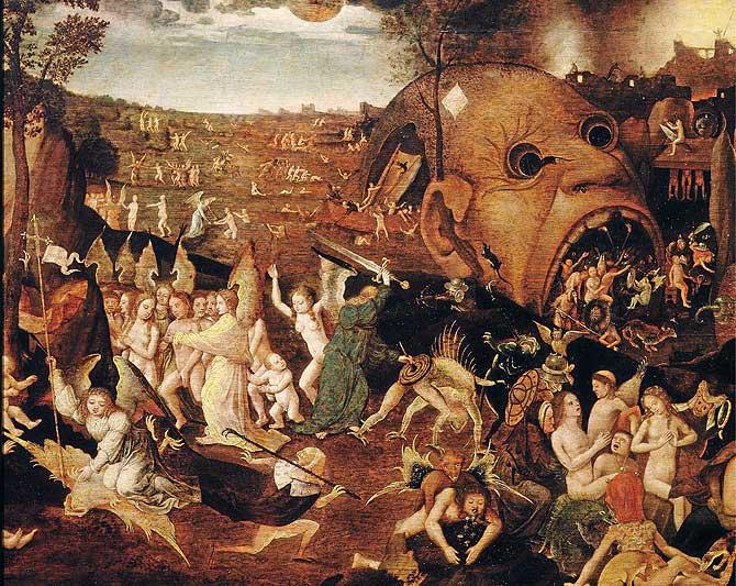 Cotidianidad el juicio final de el bosco - Jardin infierno ...