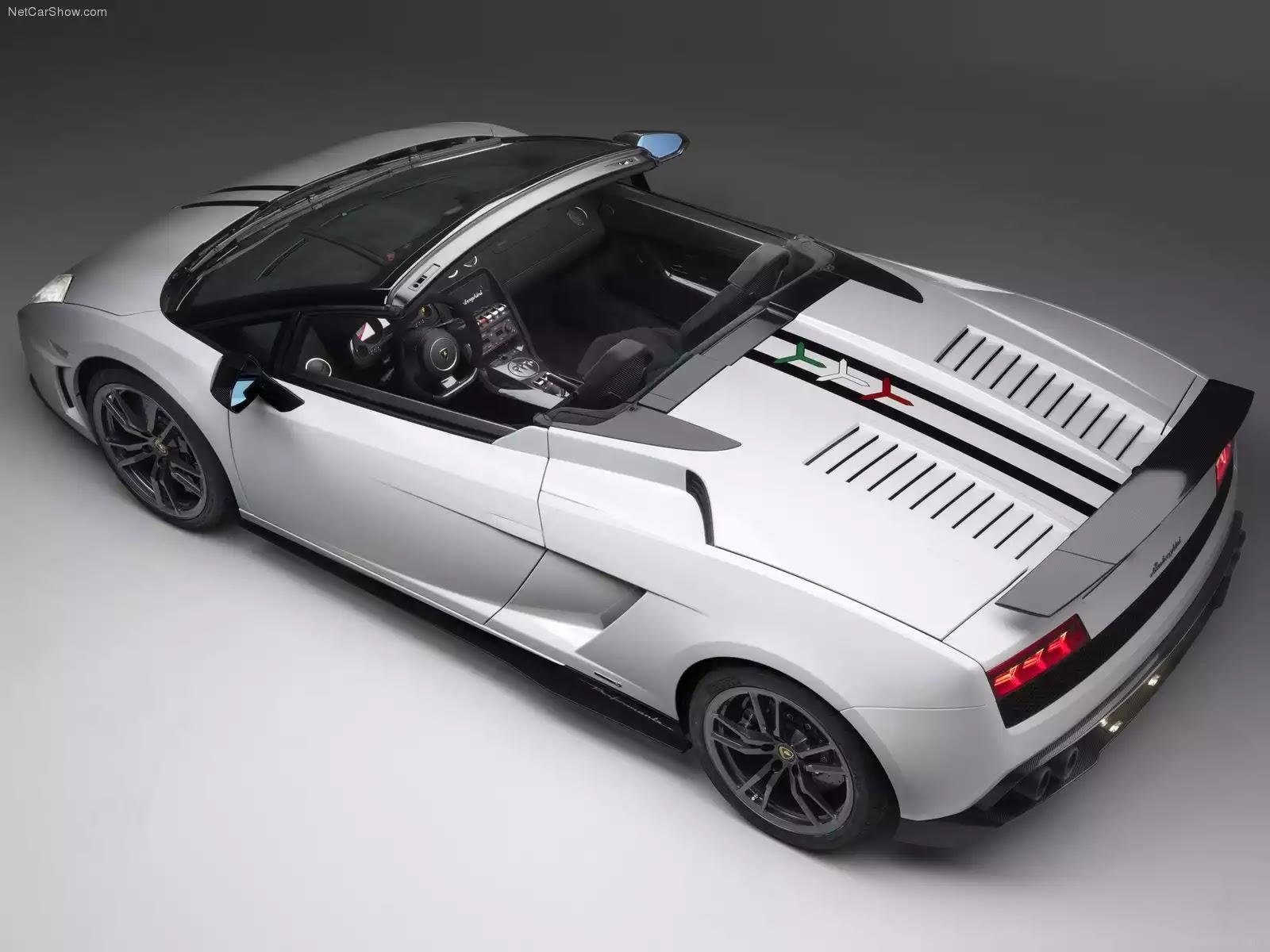 Hình ảnh siêu xe Lamborghini Gallardo LP570-4 Spyder Performante 2011 & nội ngoại thất