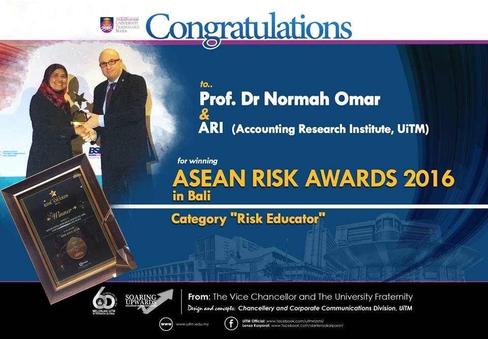 ASEAN Risk Awards 2016 for ARI