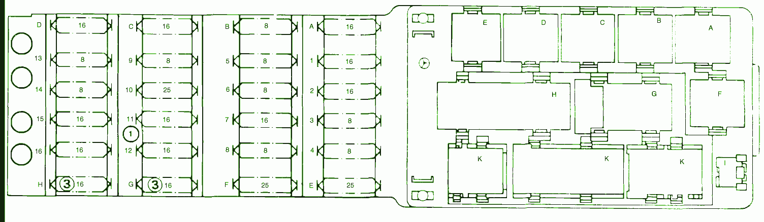 mercedes c230 fuse box diagram mercedes image fuse box diagram mercedes 230 fuel injection 1989 mercedes fuse on mercedes c230 fuse box diagram
