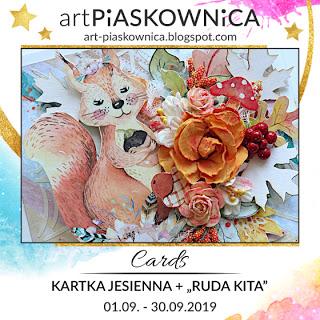 CARDS - kartka jesienna + RUDA KITA