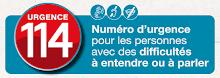 Le 114 : un numéro d'urgence au service des personnes ayant des difficultés à parler ou à entendre