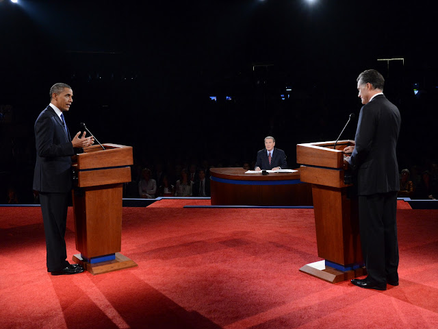 First Debate, Mitt Romney, Barack Obama