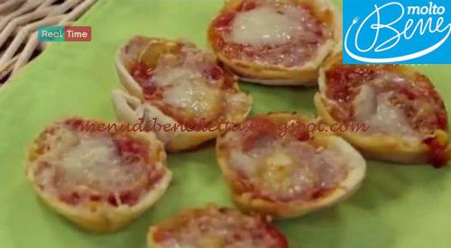 Finte pizzette ricetta Parodi per Molto Bene