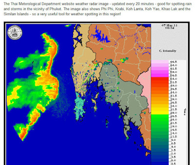Phuket Weather Radar 7th May
