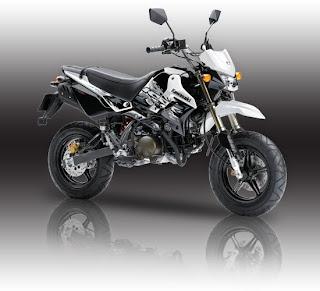 Spesifikasi Kawasaki KSR 110