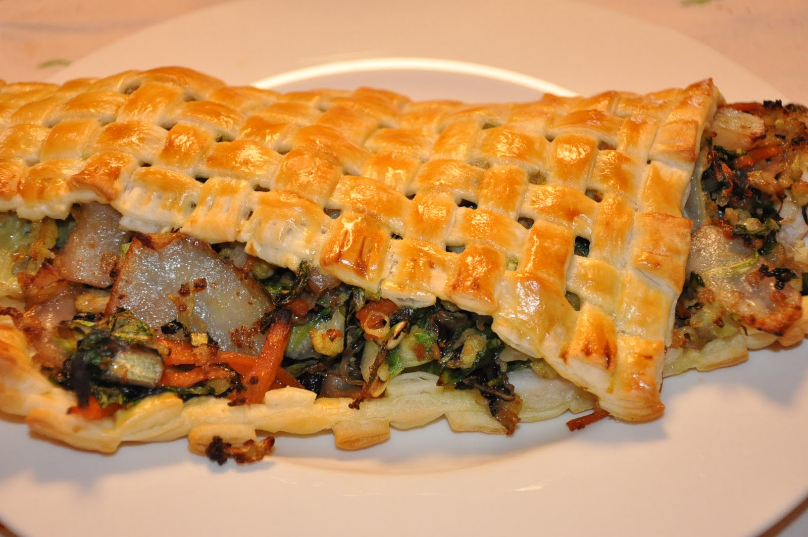 Bien-aimé Colazione da MaLu: Branzino con verdure e pasta sfoglia OA48