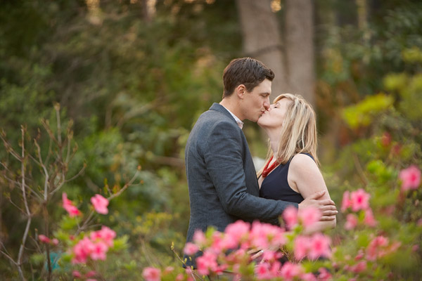 uri azalea garden engagement