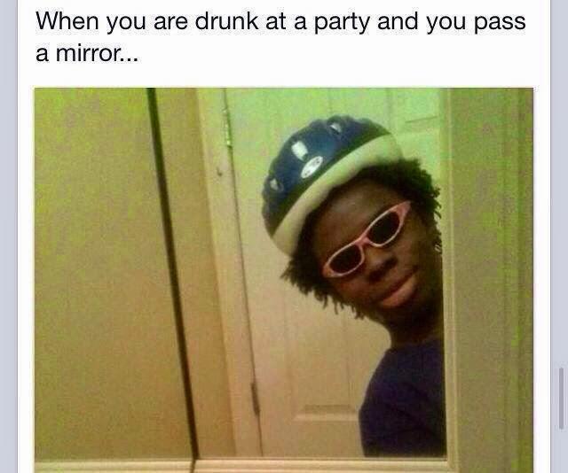 Drunk facial party #7