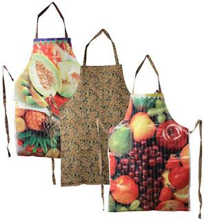 Delantales Reciclados de Carteles Publicitarios, Accesorios Ecológicos para la Cocina