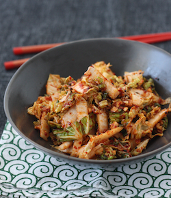 spicy korean napa cabbage salad recipe