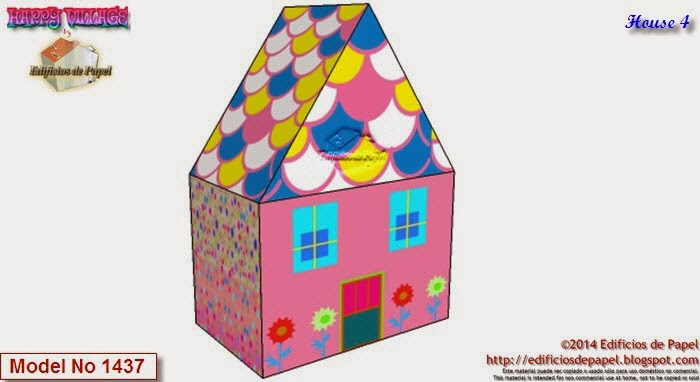 Descarga gratis tus casitas de papel y construye tu Happy Village