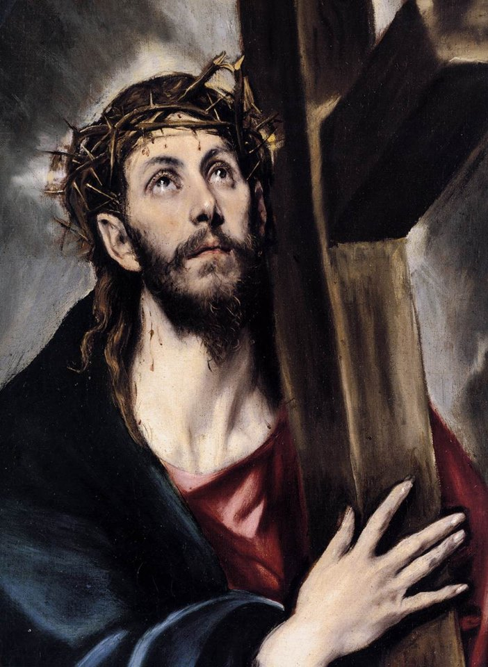 "[""Christ carrying the Cross"", painting by El Greco.]"
