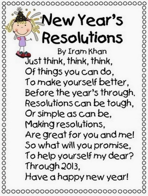 Best Happy New Year Poems For Kids