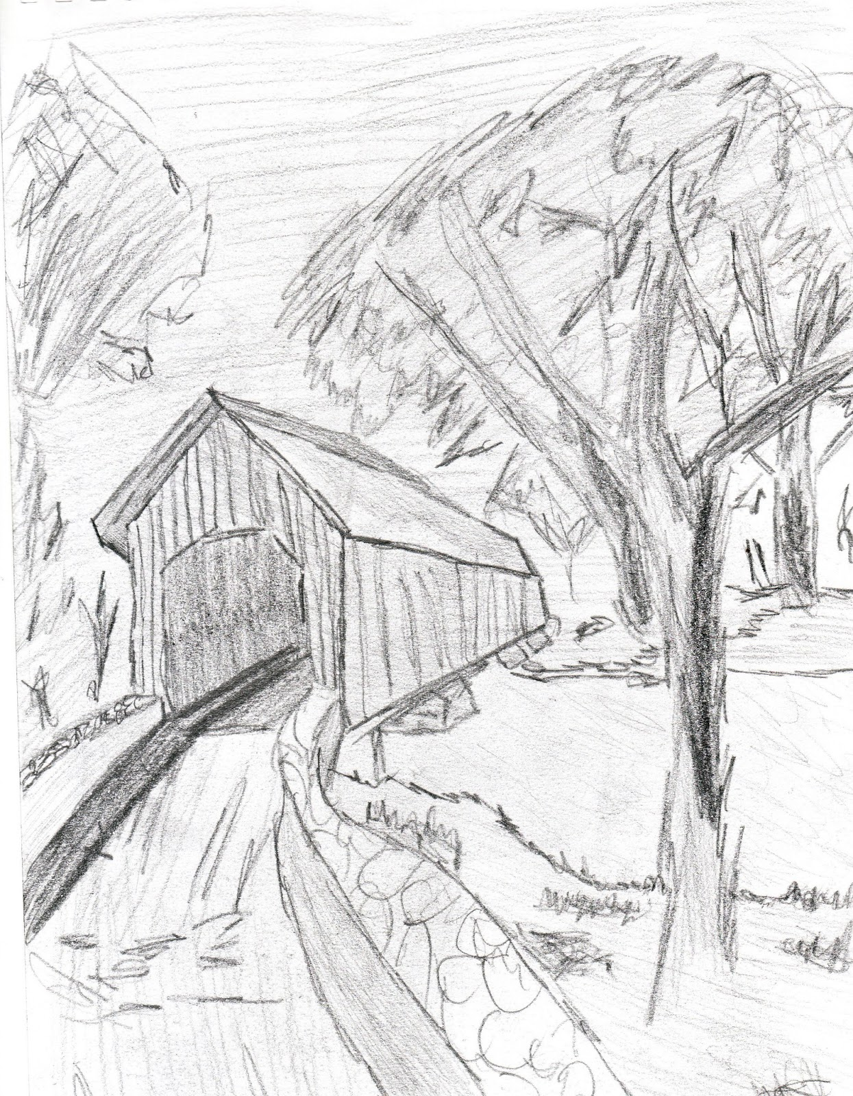Mihai stan 39 s media landscape drawing for What is landscape drawing